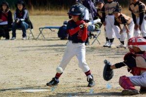 小さな野球選手