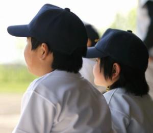 少年野球の子供たち