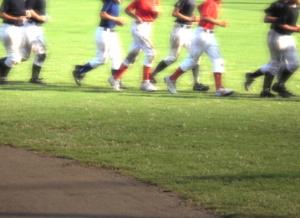 少年野球をはじめる4年生
