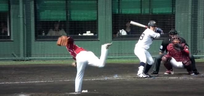 プロ野球選手の動画をYouTubeで見せる指導方法