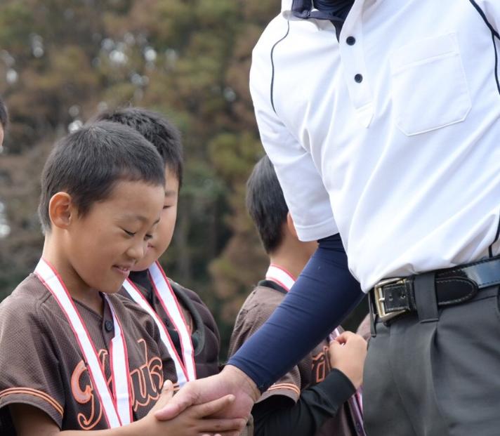 小学校3年生の息子の少年野球