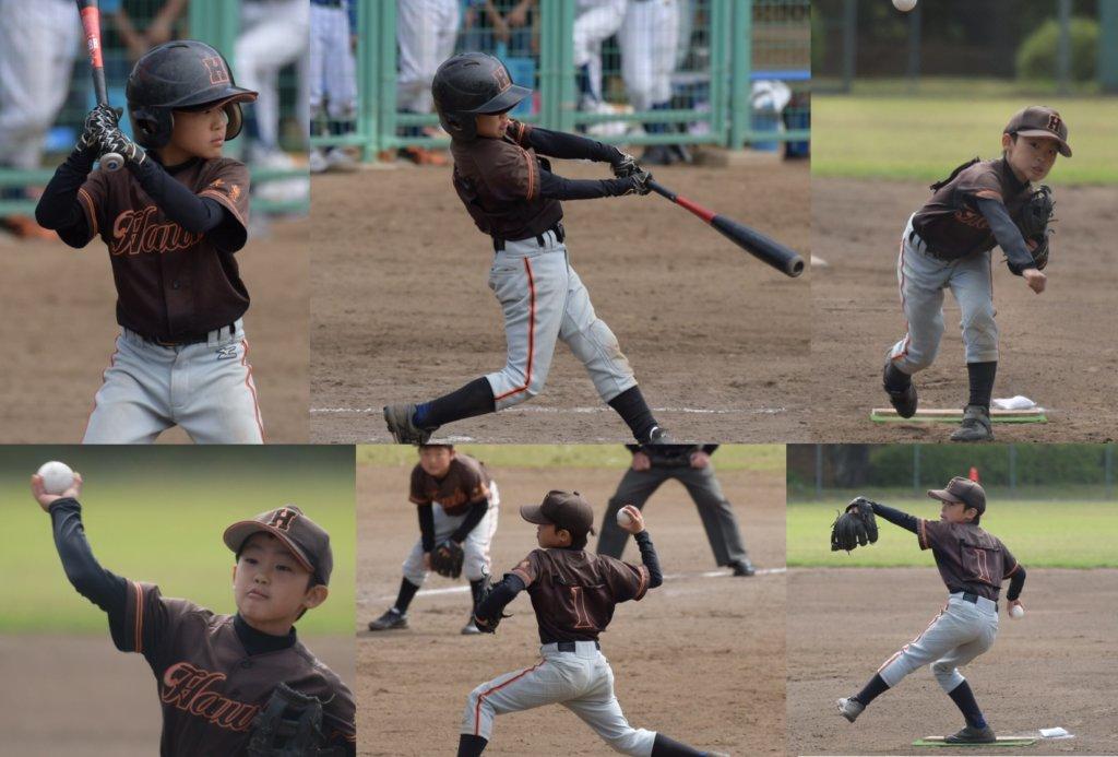 小学校4年生の4月息子の少年野球