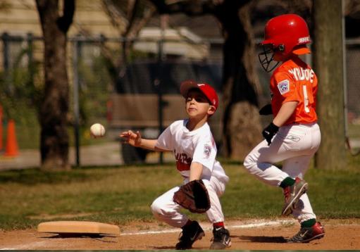 少年野球の子供