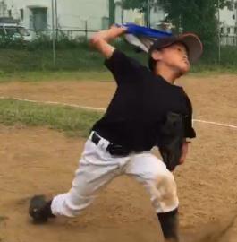 少年野球における息子の成長