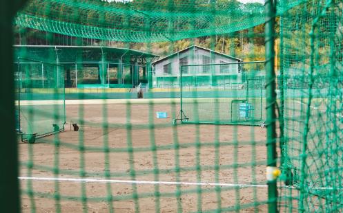 少年野球のグラウンド